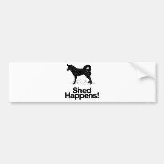 Alaskan Husky Bumper Sticker