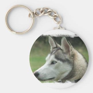 Alaskan Husky Keychain