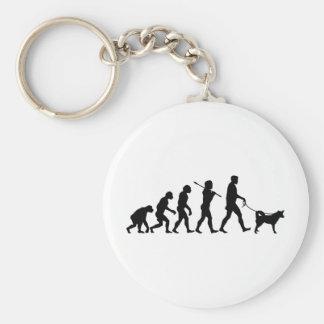 Alaskan Husky Keychains