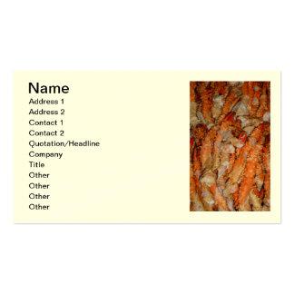 Alaskan King Crab Legs Business Card