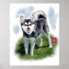 Alaskan Klee Kai Art print