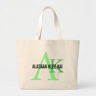Alaskan Klee Kai Breed Monogram Bags