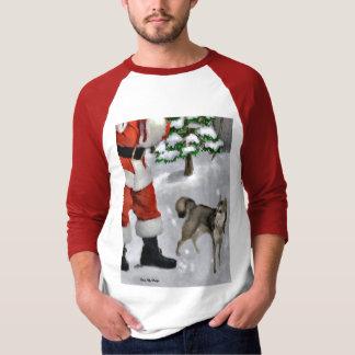 Alaskan Klee Kai Christmas Gifts T-Shirt