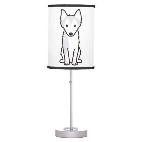 Groovy Alaskan Klee Kai Dog Cartoon Desk Lamp Download Free Architecture Designs Scobabritishbridgeorg