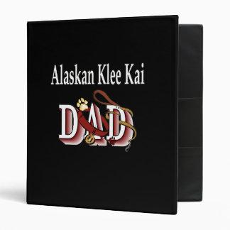 Alaskan Klee Kai Dog Dad Binder