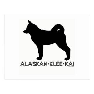 Alaskan Klee Kai Postcard