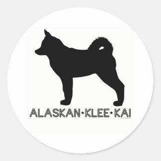 Alaskan Klee Kai Sticker
