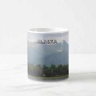 Alaskan lake & Chugach Mountains Magic Mug