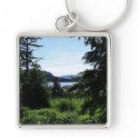 Alaskan Landscape Beautiful Alaska Photography Keychain