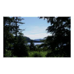 Alaskan Landscape Beautiful Alaska Photography Poster
