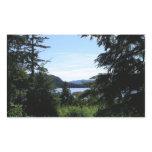 Alaskan Landscape Beautiful Alaska Photography Rectangular Sticker