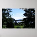 Alaskan Landscape Outdoors Nature Photography Poster