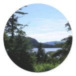 Alaskan Landscape Sticker