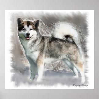 Alaskan Malamute Art Print Gifts