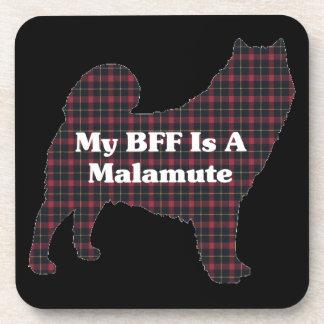 Alaskan Malamute BFF Coaster
