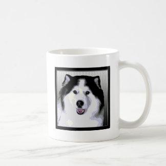 Alaskan Malamute Classic White Coffee Mug