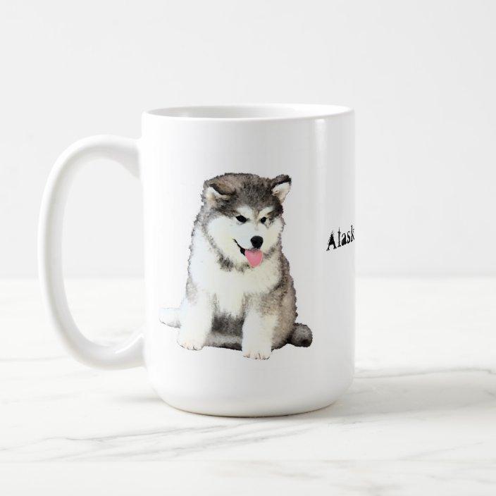 Alaskan Malamute Coffee Mug Zazzle Com