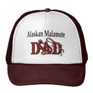 Alaskan Malamute Dad Apparel Trucker Hat