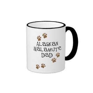 Alaskan Malamute Dad Mugs