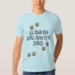 Alaskan Malamute Dad Tee Shirt