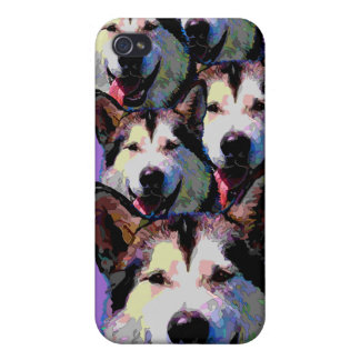 Alaskan Malamute Dazzling Iphone Cover iPhone 4/4S Cover