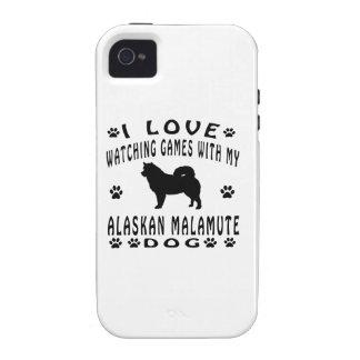 Alaskan Malamute designs Case For The iPhone 4