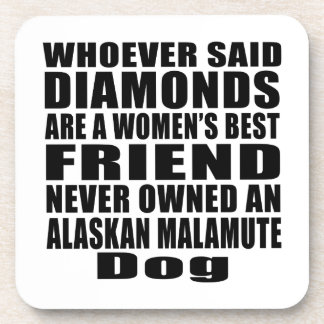 ALASKAN MALAMUTE DOG BEST FRIEND DESIGNS COASTER