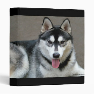 Alaskan Malamute Dog Binder
