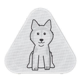 Alaskan Malamute Dog Cartoon Bluetooth Speaker
