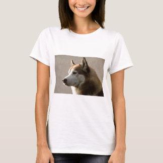 Alaskan Malamute Dog Photograph T-Shirt