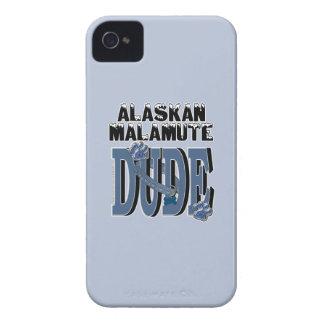 Alaskan Malamute DUDE Case-Mate iPhone 4 Case