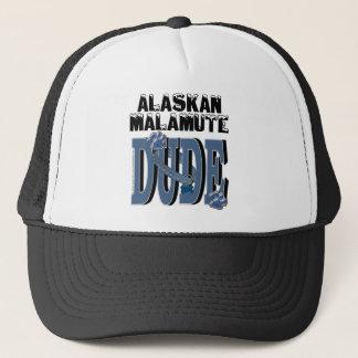 Alaskan Malamute DUDE Trucker Hat