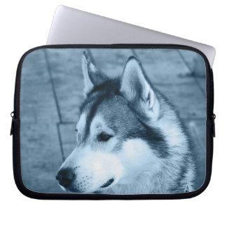 Alaskan Malamute Electronics Bag Laptop Computer Sleeve