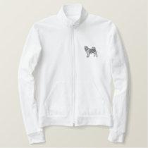 Alaskan Malamute Embroidered Jacket