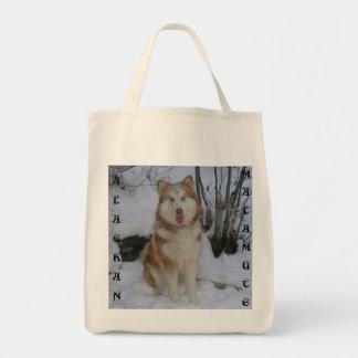 Alaskan Malamute Gadget Tote Bag