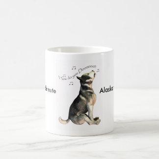 Alaskan Malamute, How Do You Do? Note  hello Classic White Coffee Mug