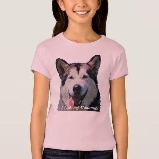 "Alaskan Malamute ""Kiska"" Children's T--Shirt T-Shirt"