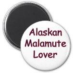 Alaskan Malamute Lover Fridge Magnet