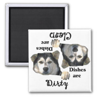 Alaskan Malamute Lovers Dishwasher Magnet