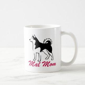 Alaskan Malamute Mal Mom Coffee Mugs