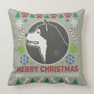 Alaskan Malamute Merry Christmas