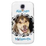 Alaskan Malamute Mix Photo Galaxy S4 Case