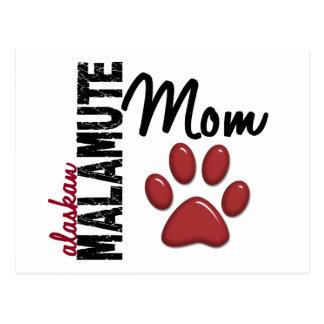 Alaskan Malamute Mom 2 Postcard