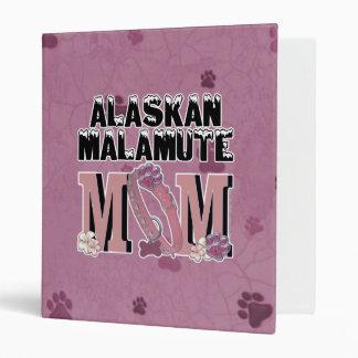 Alaskan Malamute MOM Binder