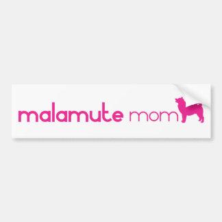 Alaskan Malamute Mom Bumper Stickers