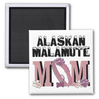 Alaskan Malamute MOM Magnets