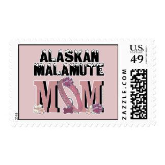 Alaskan Malamute MOM Stamp