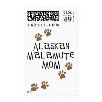 Alaskan Malamute Mom t-shirts & gifts Postage