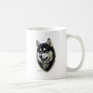 Alaskan Malamute Coffee Mugs