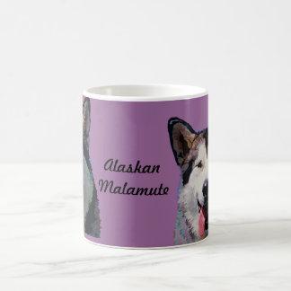 Alaskan Malamute Mug In Dazzling Colors
